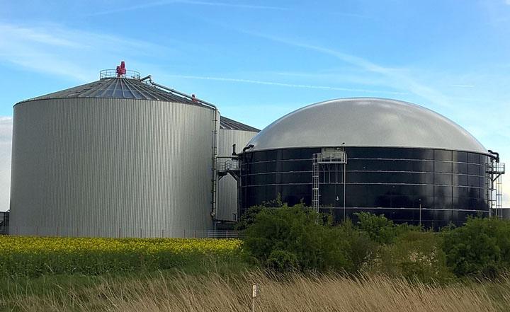 Zimny Batteriespeicher Biogasanlage Kassel