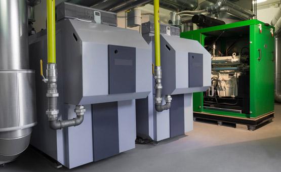 Zimny Batteriespeicher Kassel BHKW mit Batterie Biogas