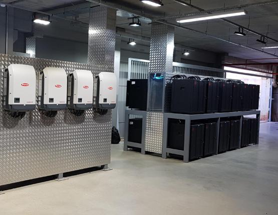 Zimny Batteriespeicher Wechselrichter Batteriesicherheit